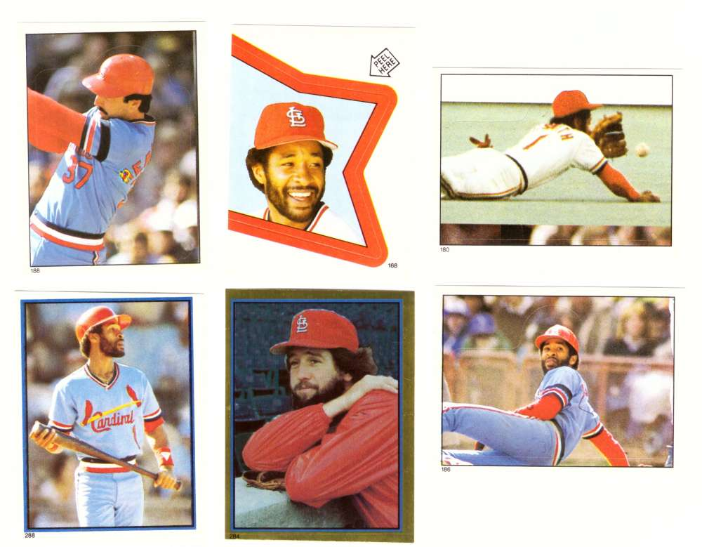 1983 Topps Stickers - ST LOUIS CARDINALS Team Set