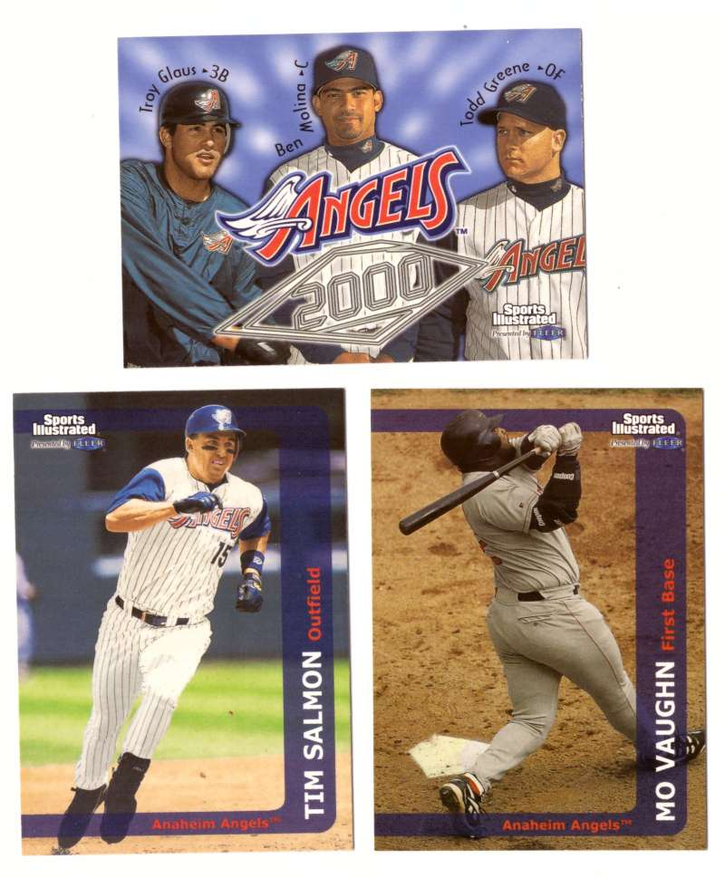 1999 Sports Illustrated - ANAHEIM ANGELS Team set