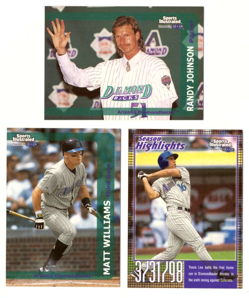 1999 Sports Illustrated - ARIZONA DIAMONDBACKS Team Set