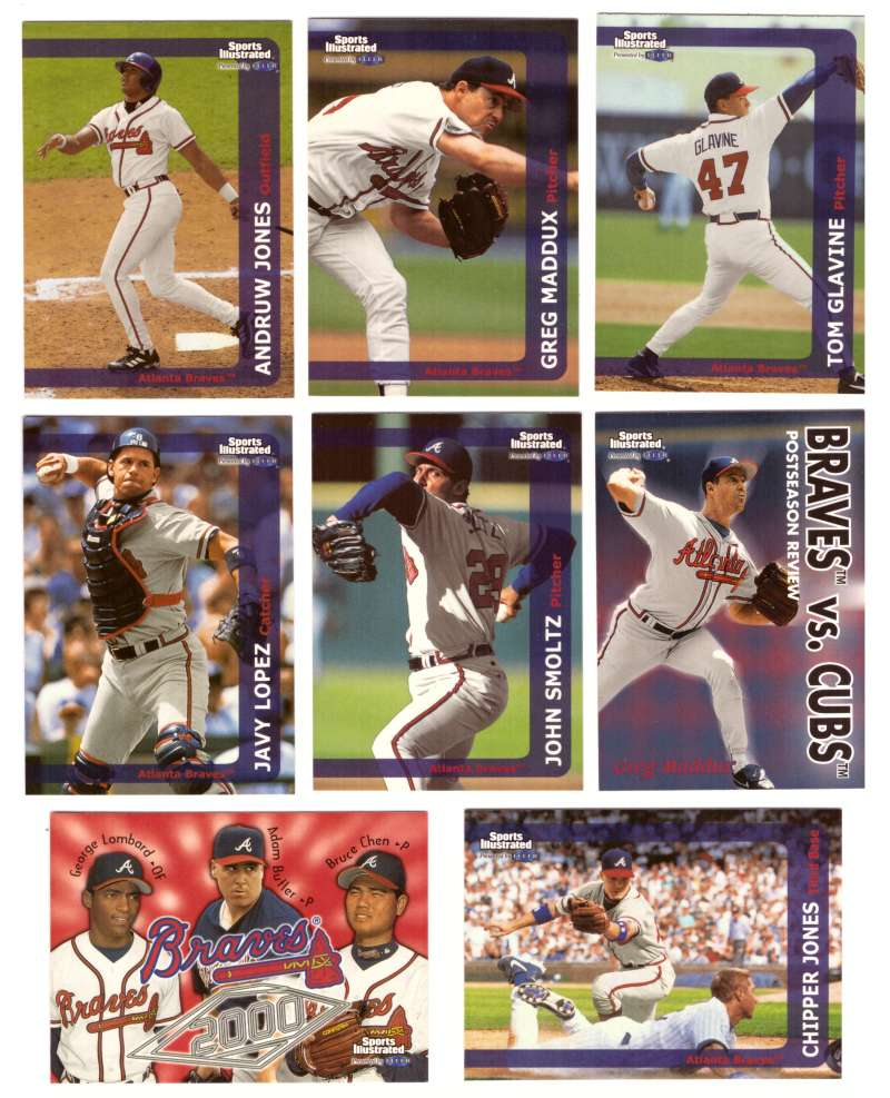 1999 Sports Illustrated - ATLANTA BRAVES Team Set