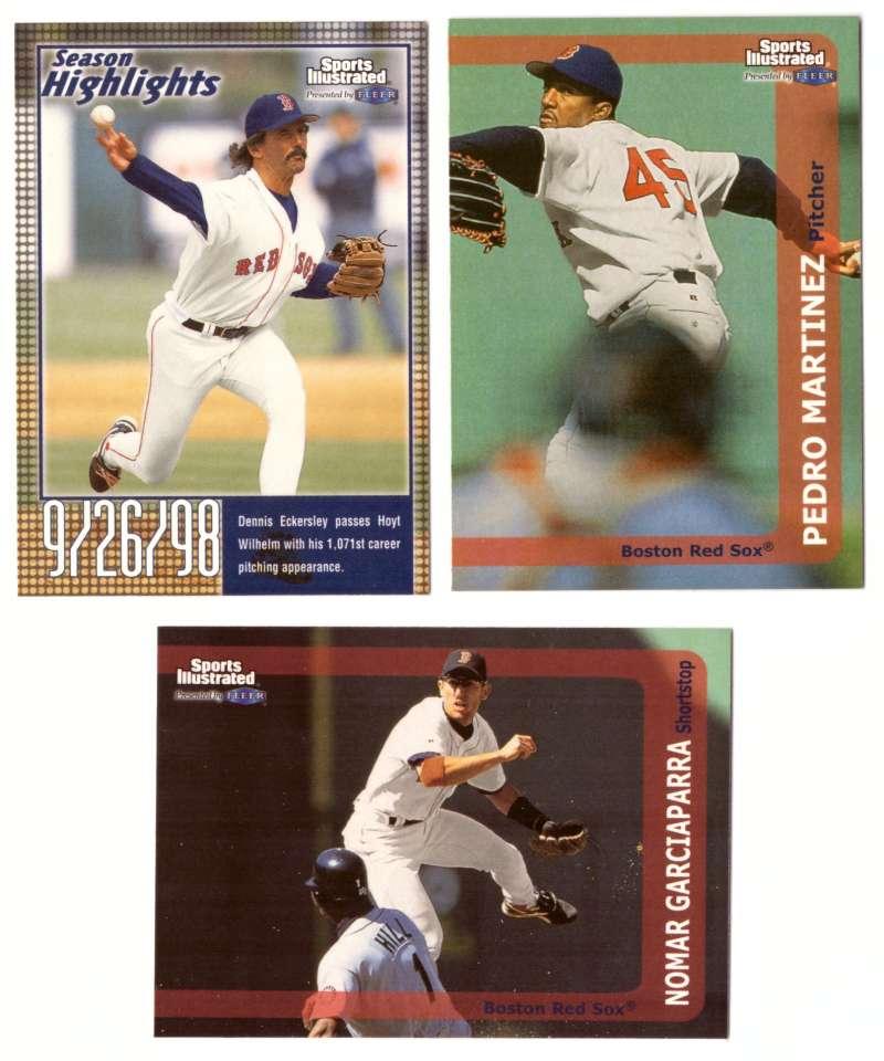 1999 Sports Illustrated - BOSTON RED SOX Team Set