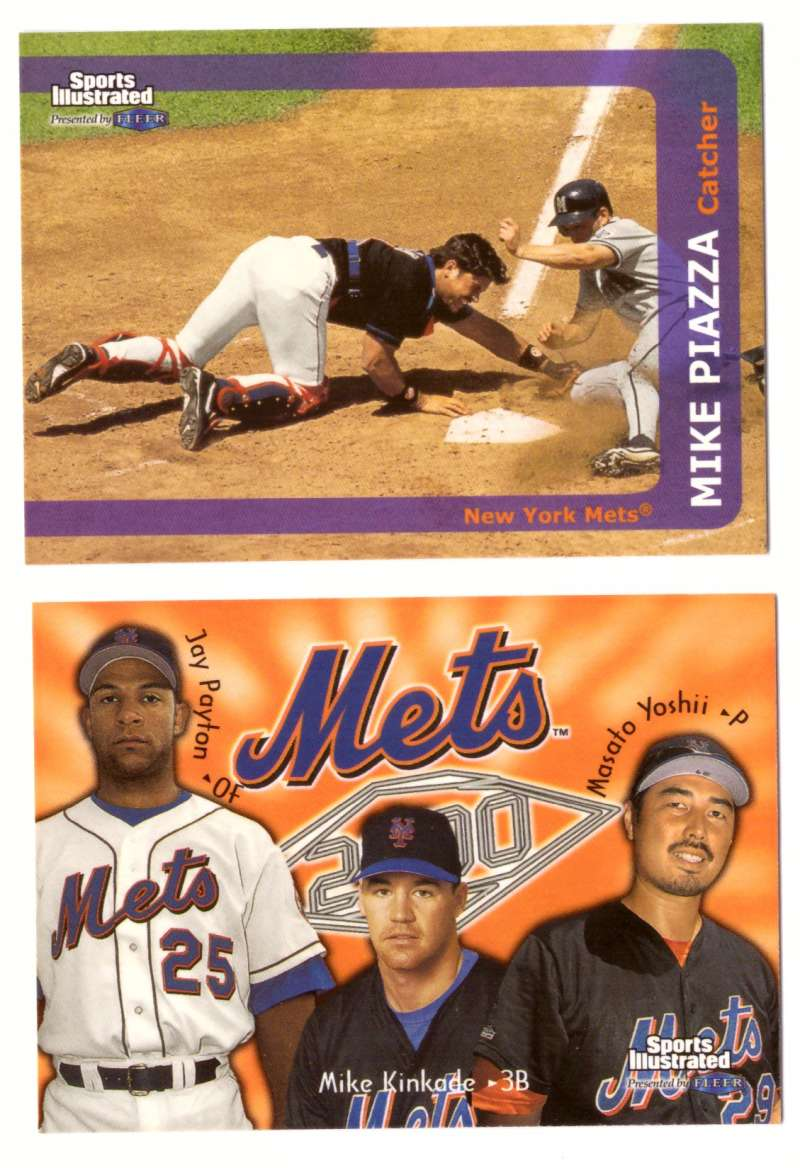 1999 Sports Illustrated - NEW YORK METS Team Set