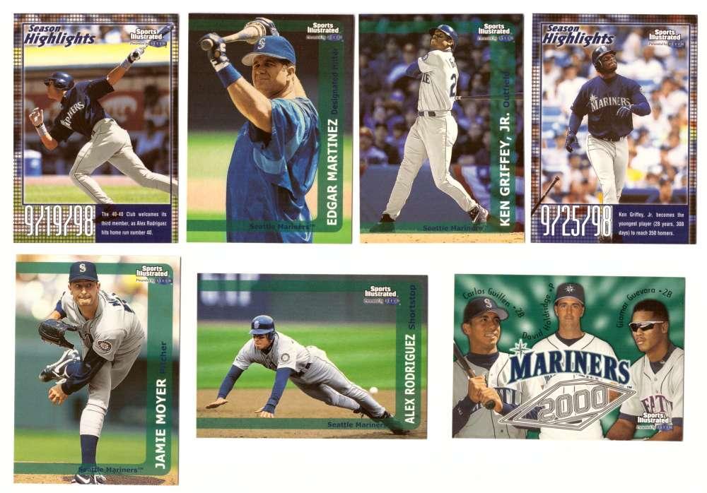 1999 Sports Illustrated - SEATTLE MARINERS Team Set