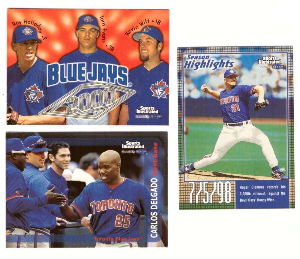 1999 Sports Illustrated - TORONTO BLUE JAYS Team Set