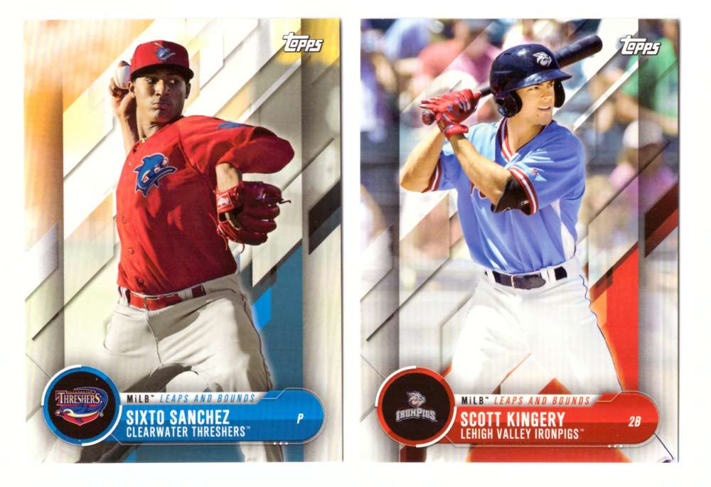2018 Topps Pro Debut Leaps and Bounds - PHILADELPHIA PHILLIES