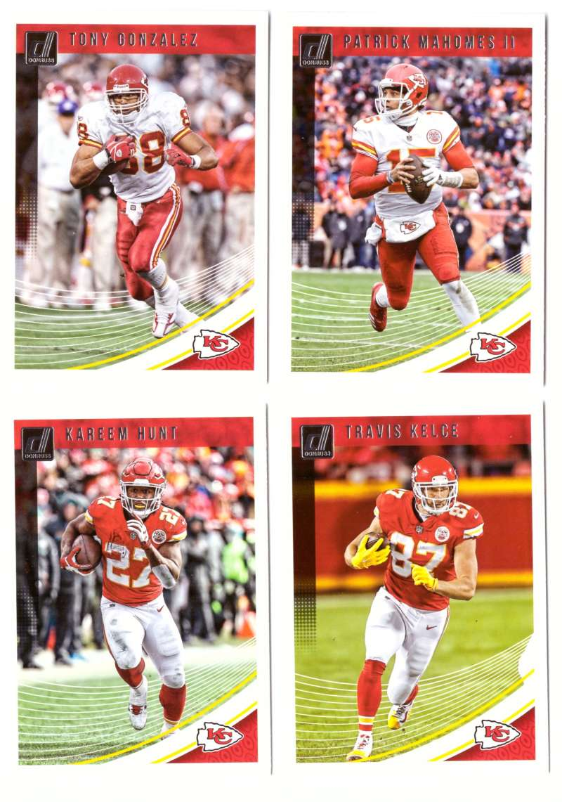 2018 Donruss Football Team Set - KANSAS CITY CHIEFS