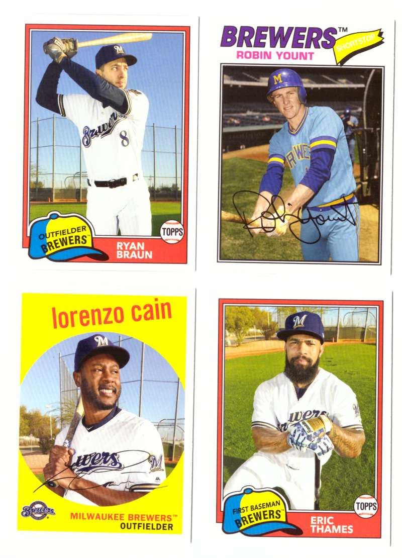 2018 Topps Archives - MILWAUKEE BREWERS