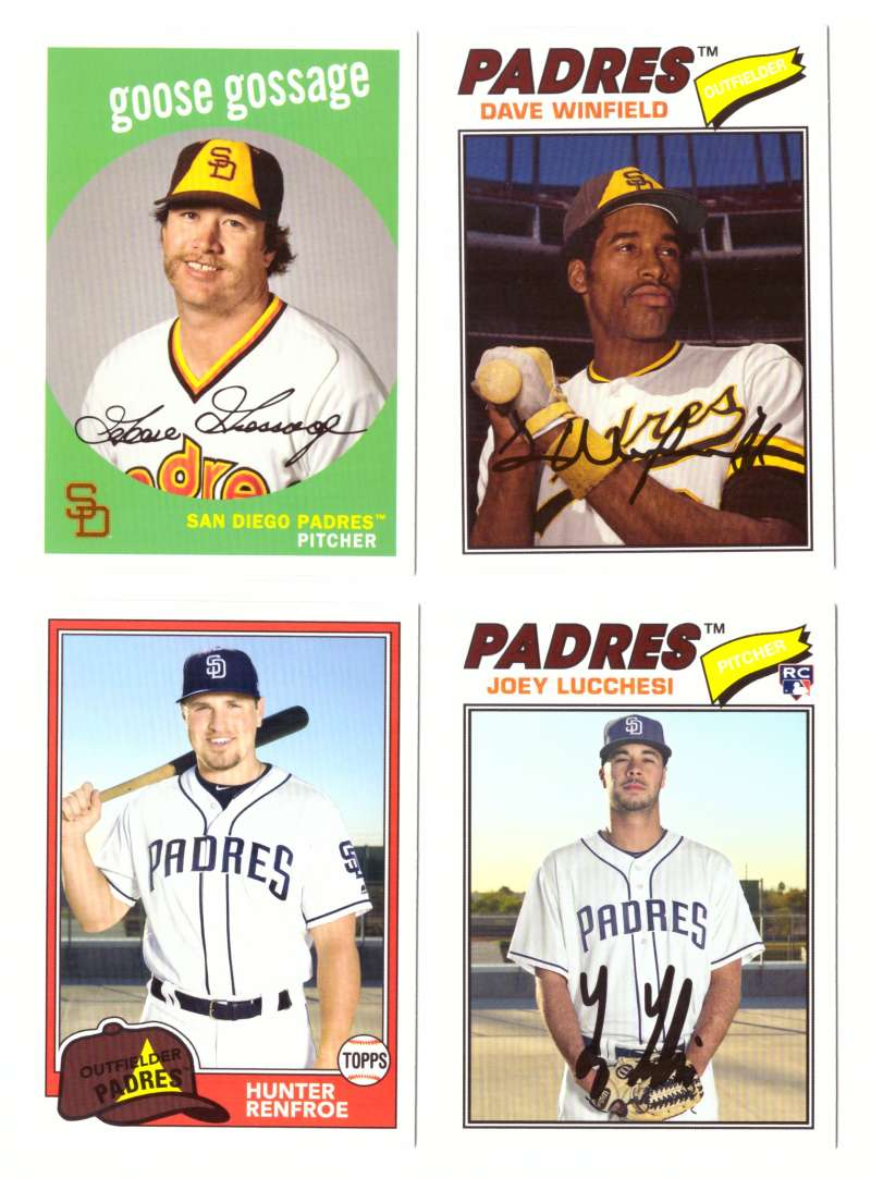 2018 Topps Archives - SAN DIEGO PADRES