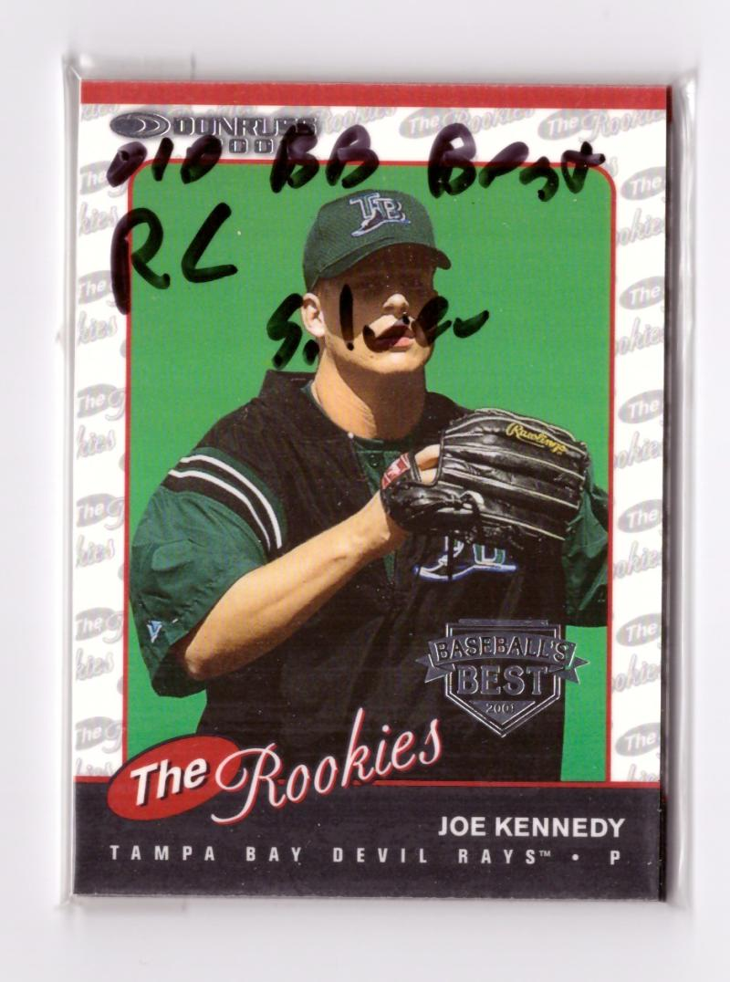 2001 Donruss The Rookies SILVER - TAMPA BAY DEVIL RAYS Team Set