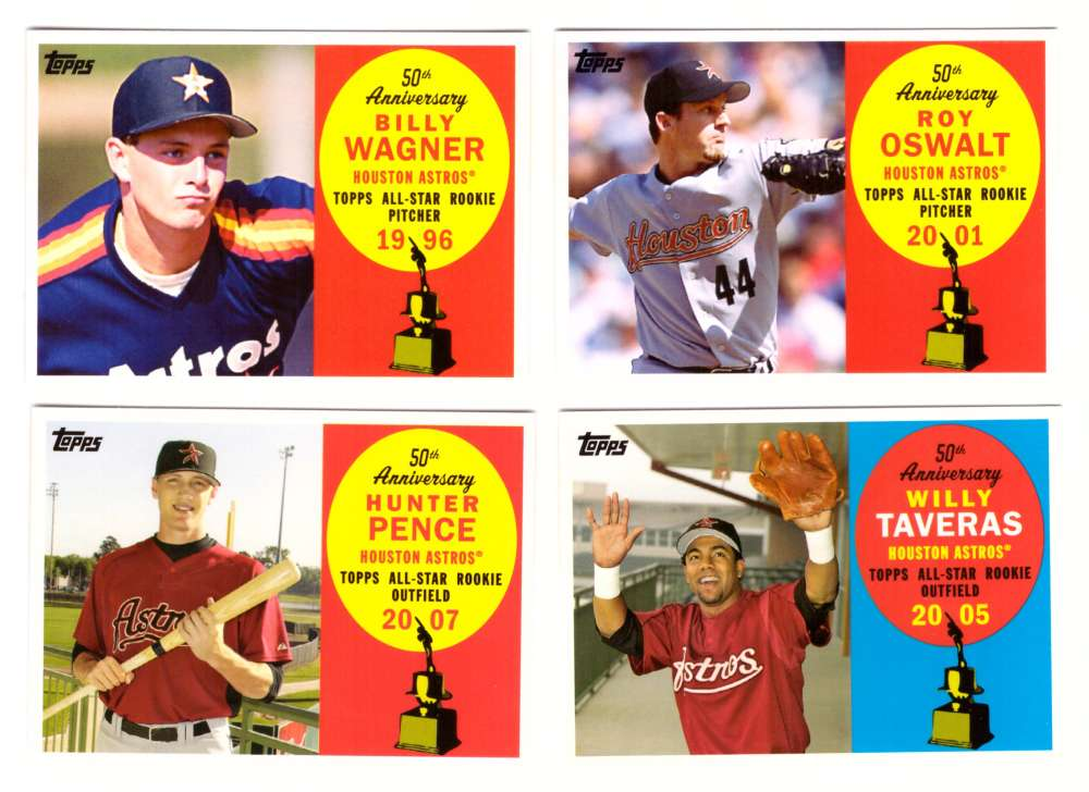 2008 Topps 50th Anniversary All Rookie Team - HOUSTON ASTROS