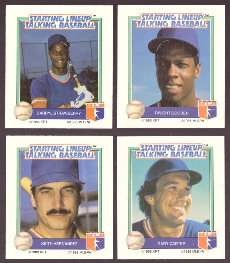 1988 Starting Lineup All-Stars NEW YORK METS Team Set