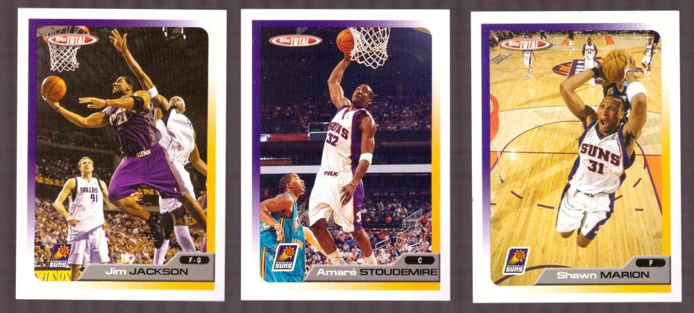 2005-06 Topps Total Basketball Team Set - Phoenix Suns