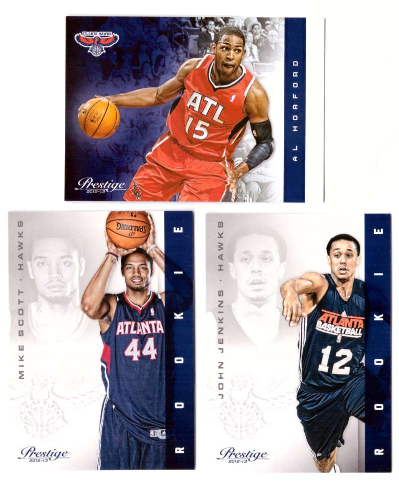2012-13 Prestige (Panini) 1-250 Basketball Team Set - Atlanta Hawks
