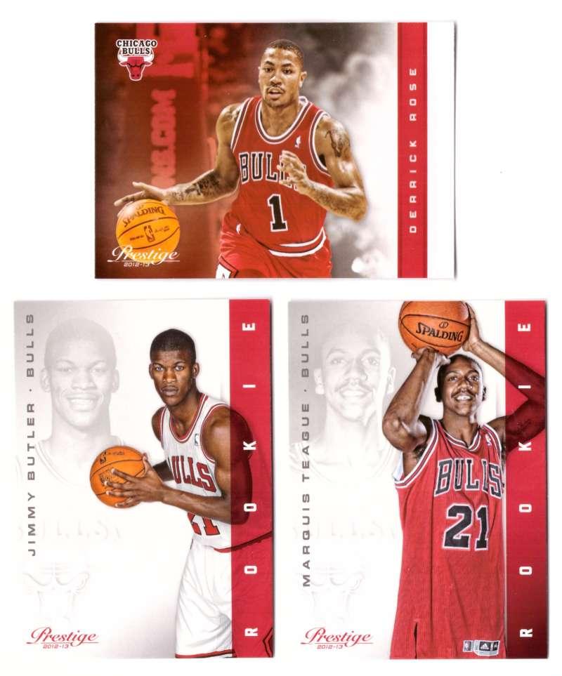 2012-13 Prestige (Panini) 1-250 Basketball Team Set - Chicago Bulls