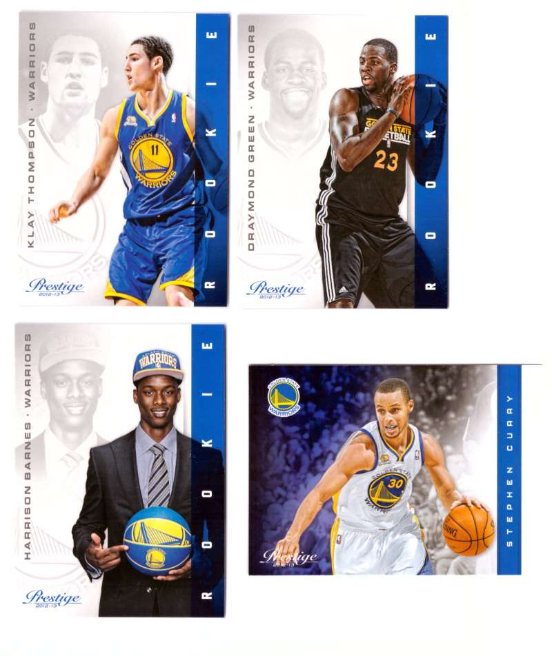 2012-13 Prestige (Panini) 1-250 Basketball Team Set - Golden State Warriors