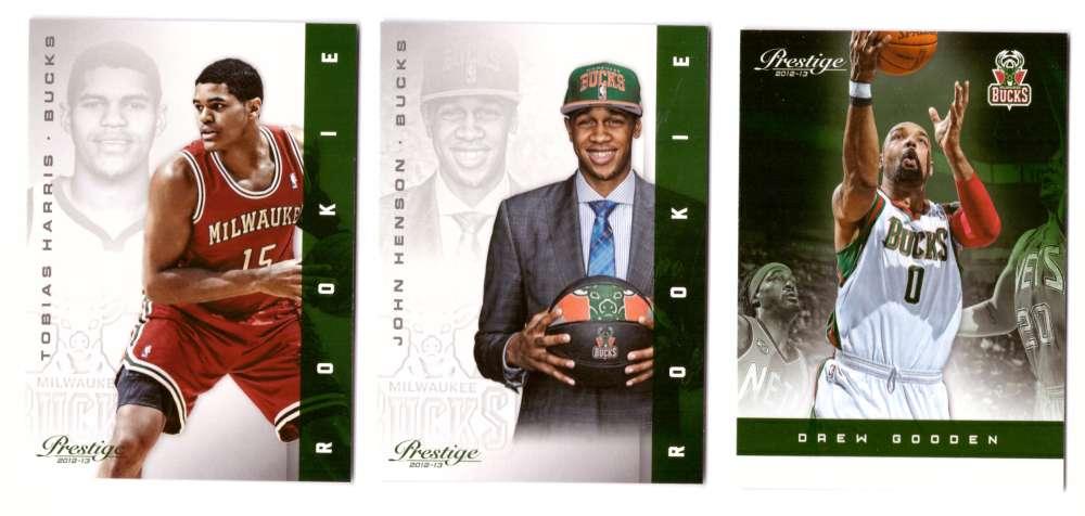 2012-13 Prestige (Panini) 1-250 Basketball Team Set - Milwaukee Bucks