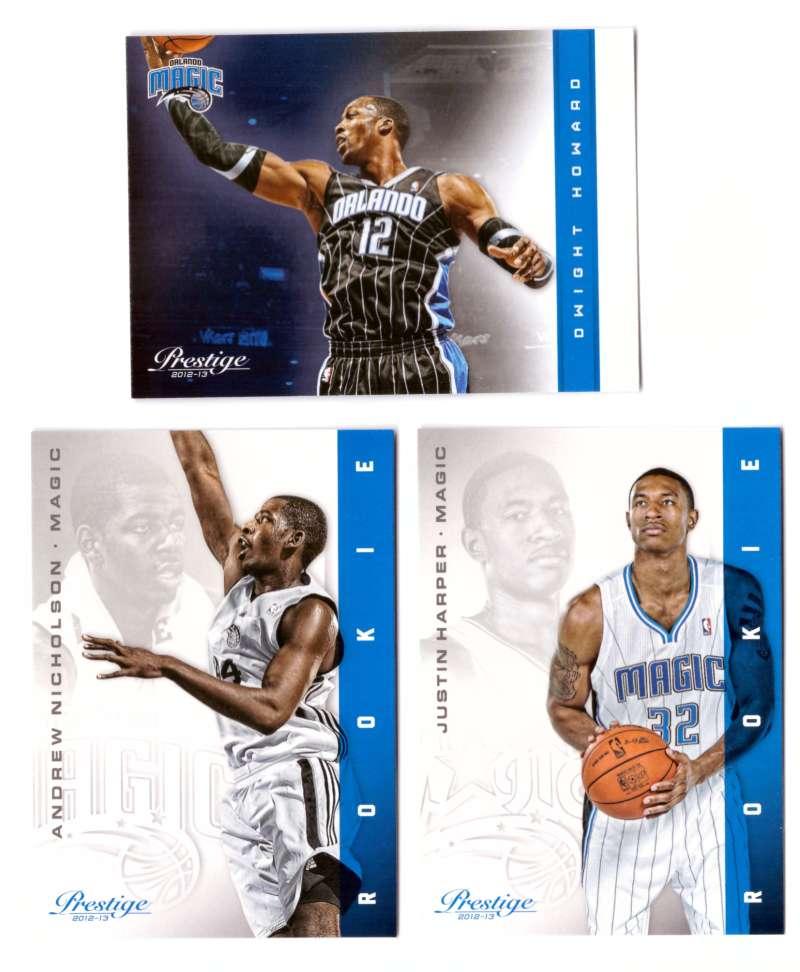 2012-13 Prestige (Panini) 1-250 Basketball Team Set - Orlando Magic