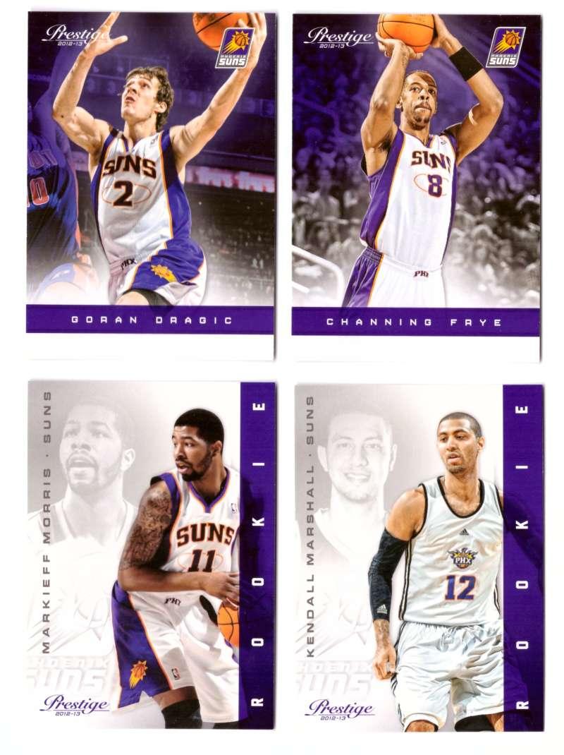2012-13 Prestige (Panini) 1-250 Basketball Team Set - Phoenix Suns