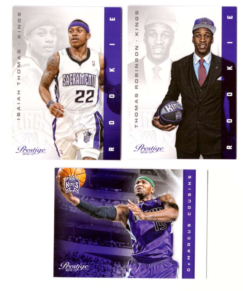 2012-13 Prestige (Panini) 1-250 Basketball Team Set - Sacramento Kings