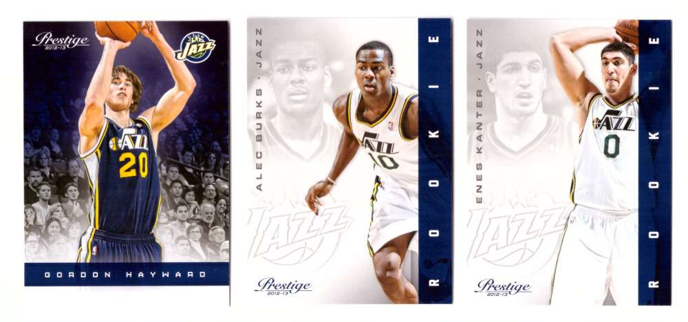 2012-13 Prestige (Panini) 1-250 Basketball Team Set - Utah Jazz