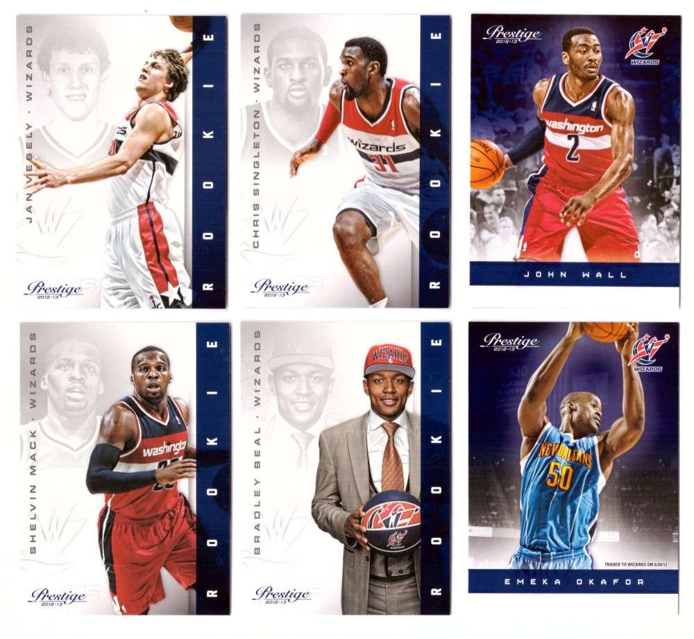2012-13 Prestige (Panini) 1-250 Basketball Team Set - Washington Wizards