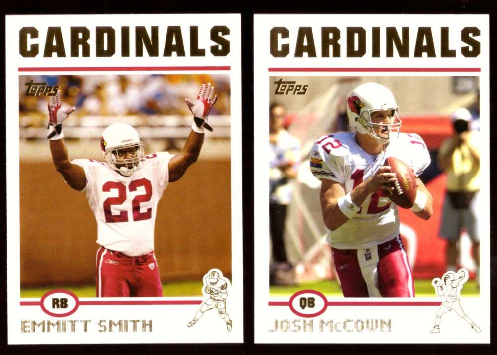 2004 Topps Gold Letter Football Team Set - ARIZONA CARDINALS  w/o 360