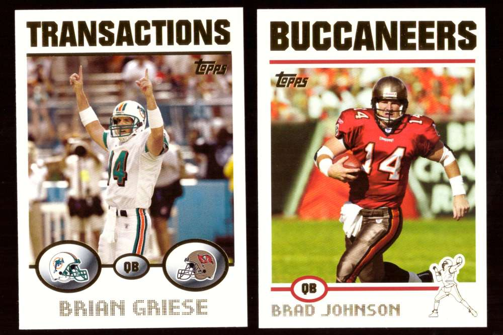 2004 Topps Gold Letter Football Team Set - TAMPA BAY BUCCANEERS