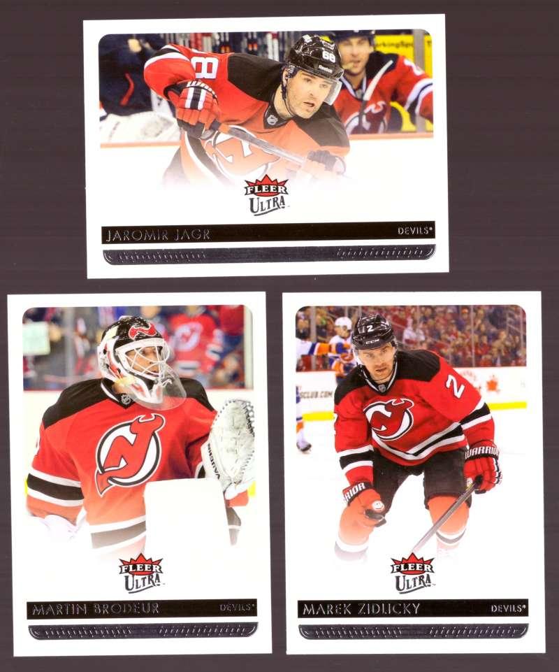 2014-15 Ultra (Base) Hockey Team Set - New Jersey Devils
