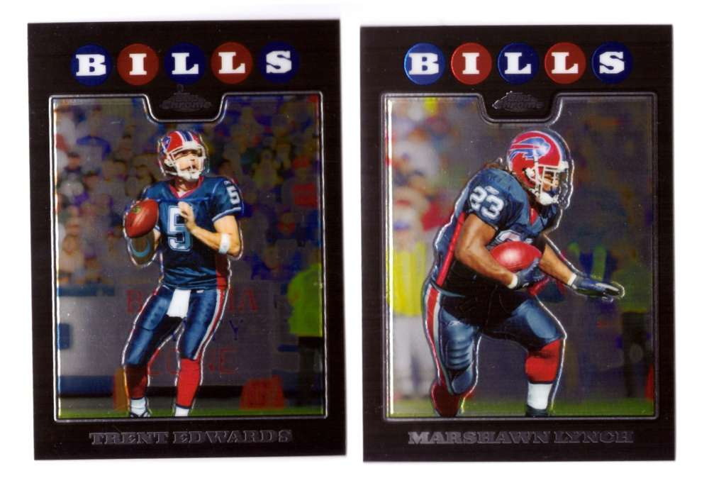 2008 Topps Chrome (Base 1-165) Football Team Set - BUFFALO BILLS