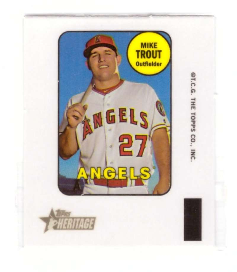 2018 Topps Heritage '69 Decals - LOS ANGELES ANGELS