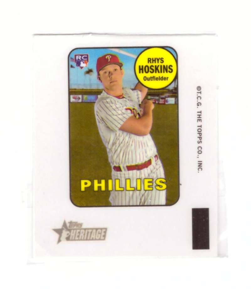 2018 Topps Heritage '69 Decals - PHILADELPHIA PHILLIES