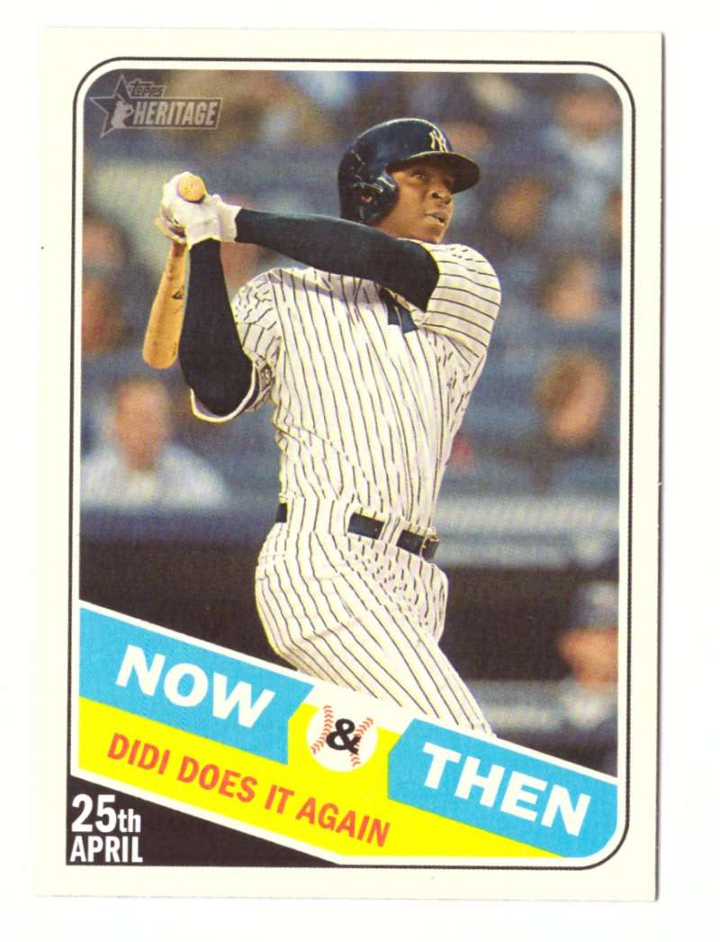 2018 Topps Heritage High Number Now and Then - NEW YORK YANKEES