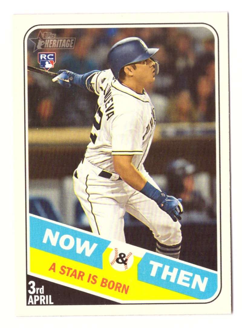 2018 Topps Heritage High Number Now and Then - SAN DIEGO PADRES