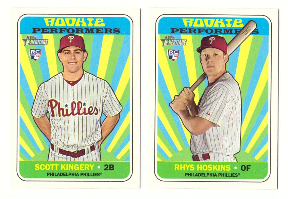 2018 Topps Heritage High Numbers Rookie Performers - PHILADELPHIA PHILLIES