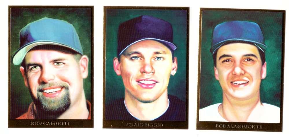 2009 Italian American Baseball Heroes - HOUSTON ASTROS Team Set