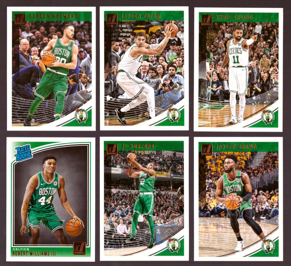 2018-19 Donruss Basketball Team Set - Boston Celtics (6 Cards)