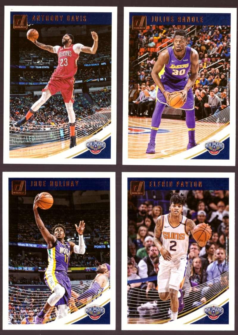 2018-19 Donruss Basketball Team Set - New Orleans Pelicans (5 Cards)