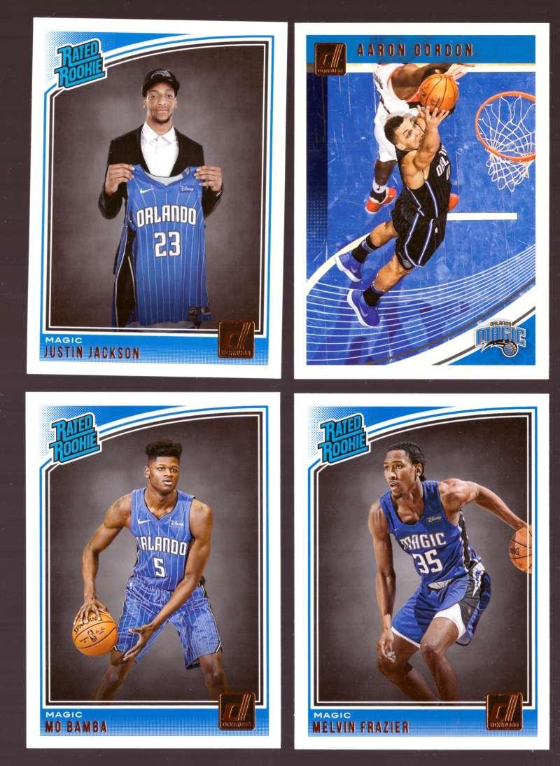 2018-19 Donruss Basketball Team Set - Orlando Magic (8 Cards)