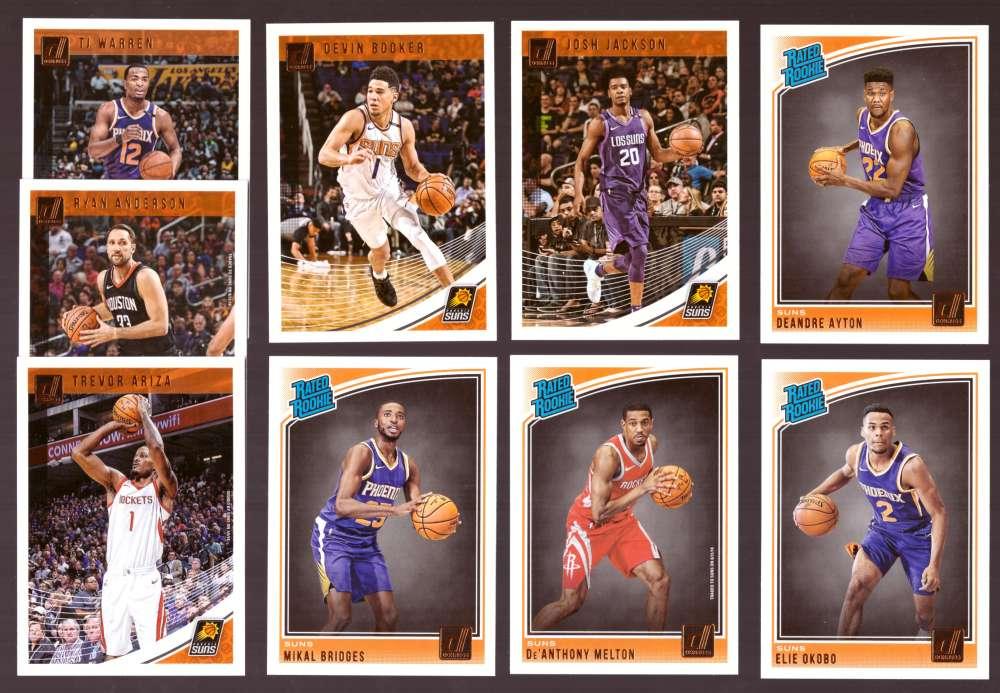 2018-19 Donruss Basketball Team Set - Phoenix Suns (9 Cards)