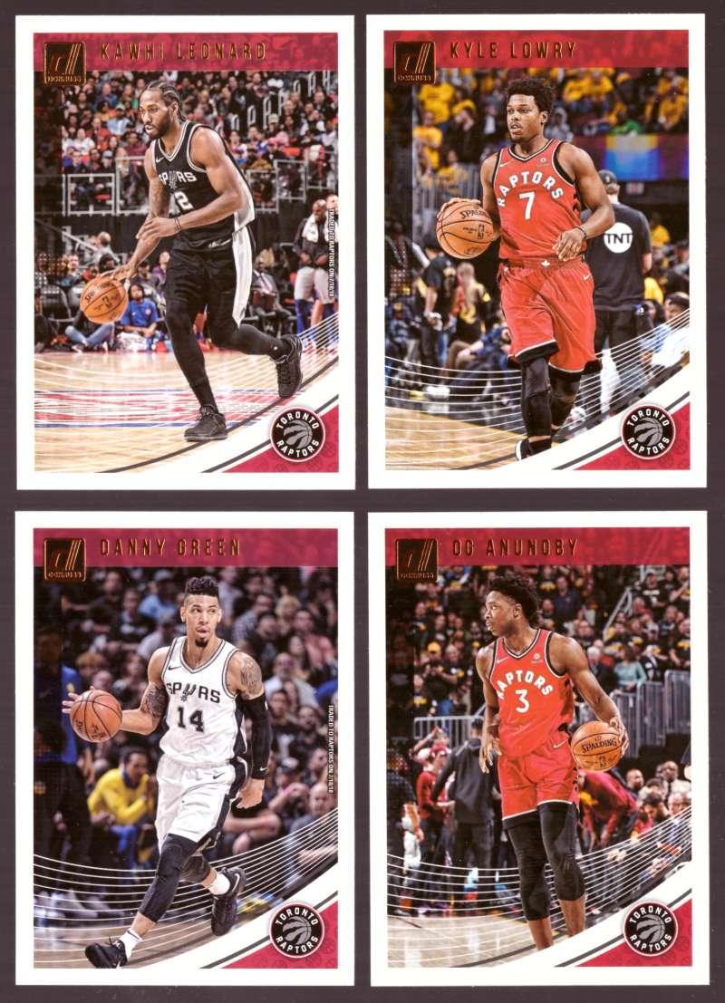 2018-19 Donruss Basketball Team Set - Toronto Raptors (6 Cards)