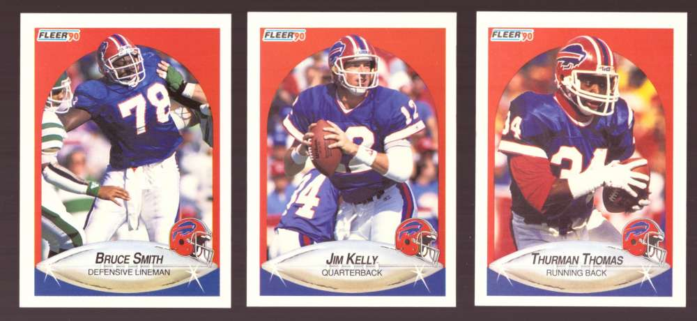 1990 Fleer Football Team Set - BUFFALO BILLS