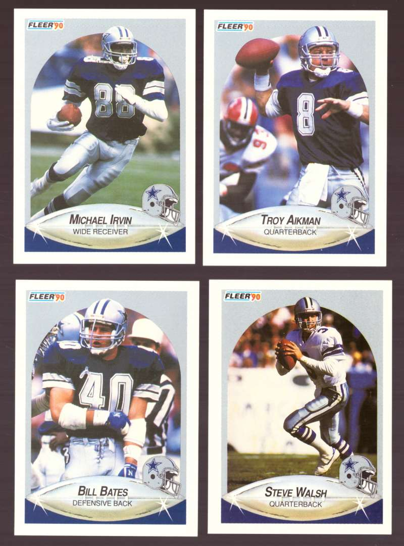1990 Fleer Football Team Set - DALLAS COWBOYS