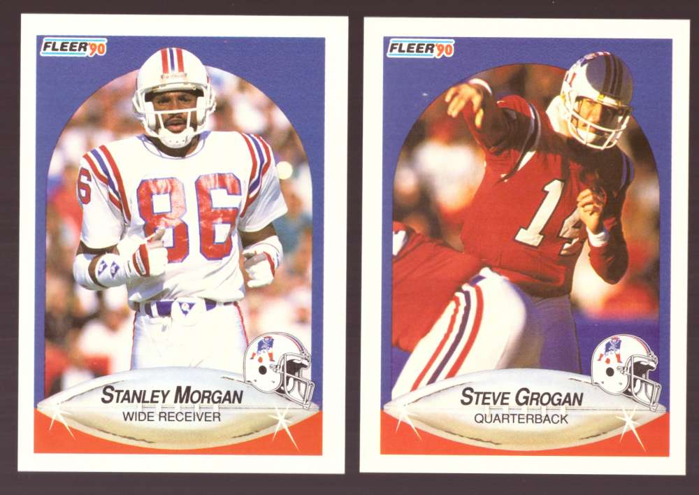 1990 Fleer Football Team Set - NEW ENGLAND PATRIOTS