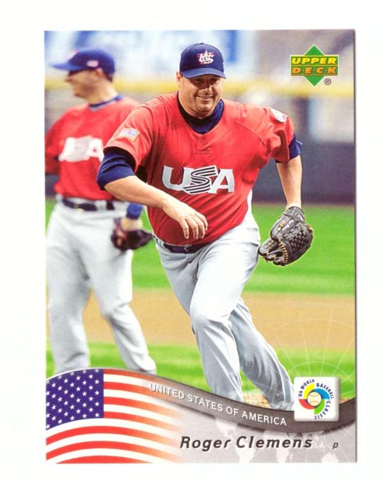 2006 Upper Deck World Baseball Classic WBC - HOUSTON ASTROS Roger Clemens