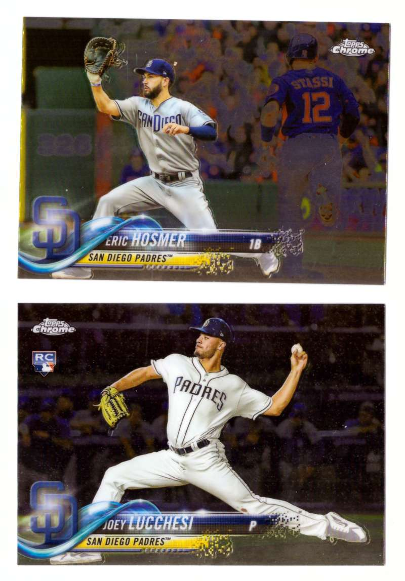 2018 Topps Chrome Update - SAN DIEGO PADRES