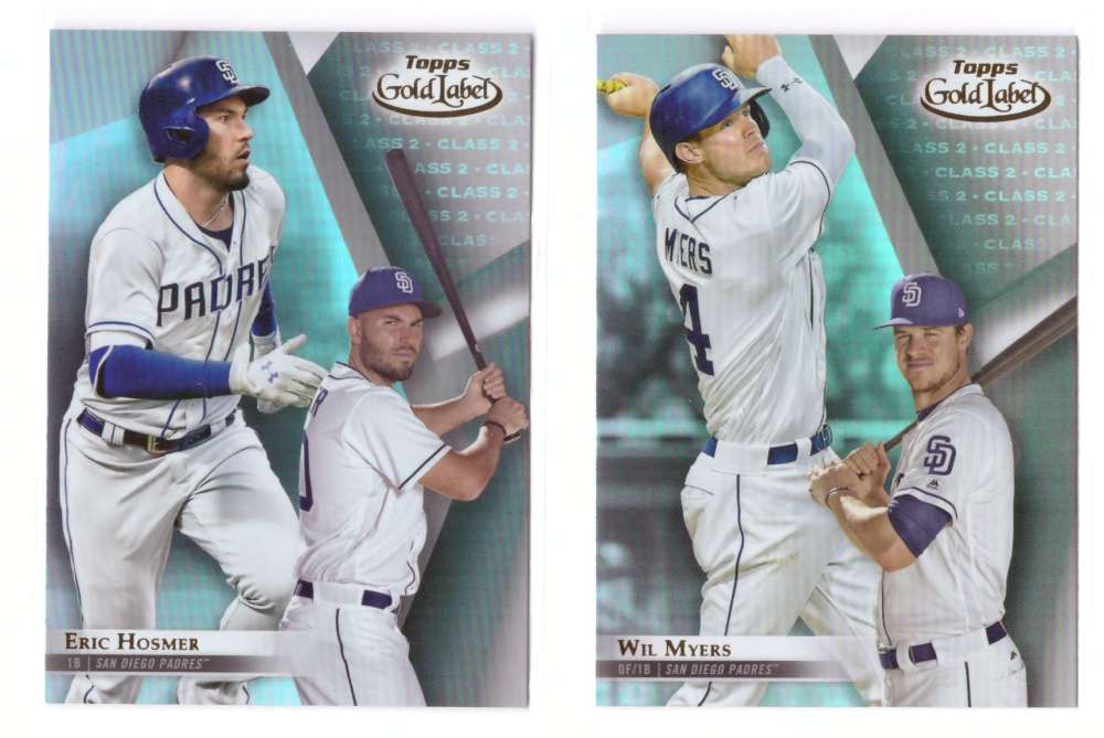 2018 Topps Gold Label Class 2 - SAN DIEGO PADRES Team Set
