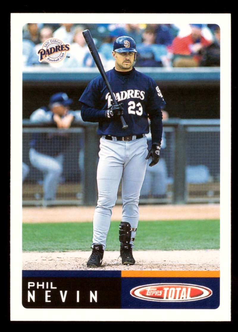 2002 Topps Total Team Checklists - SAN DIEGO PADRES