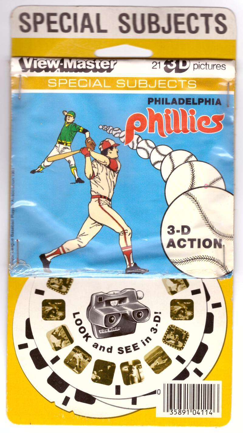 1981 View Master Disc Set - PHILADELPHIA PHILLIES