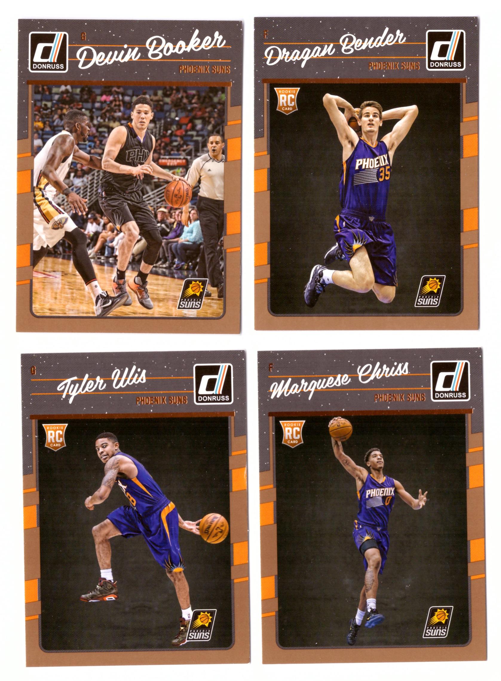 2016-17 Donruss Basketball Team Set - Phoenix Suns