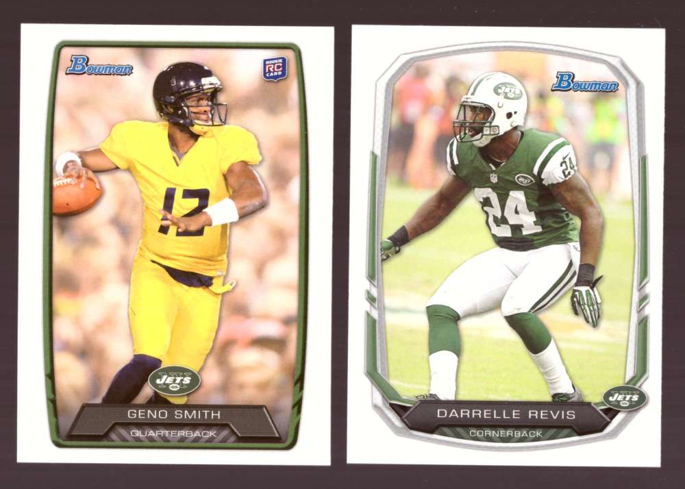 2013 Bowman Football Team Set - NEW YORK JETS